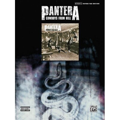 Alfred Publishing Company Pantera: Cowboys from Hell