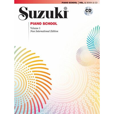 Alfred Publishing Company Suzuki Piano School New International Edition Piano Book and CD, Volume 1