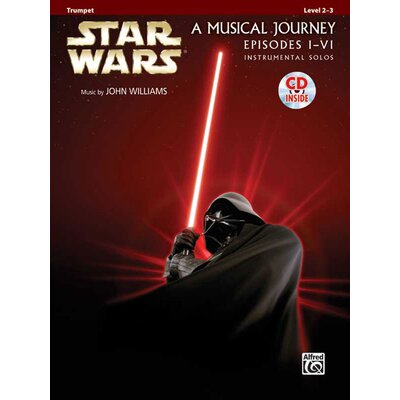 Alfred Publishing Company Star Wars® Instrumental Solos (Movies I-VI) (Book and CD)
