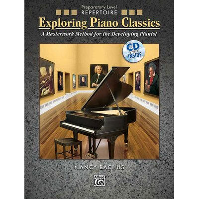 Alfred Publishing Company Exploring Piano Classics Repertoire, Preparatory Level