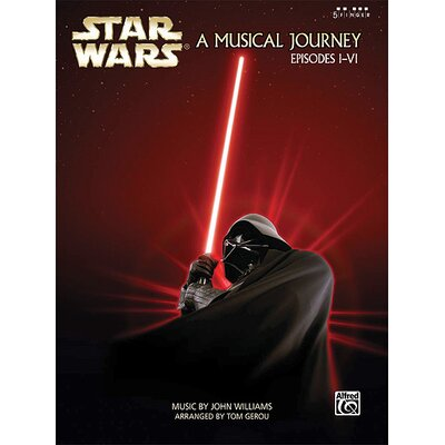 Alfred Publishing Company Star Wars® - A Musical Journey: Music from Episodes I - VI (Five Finger Piano)