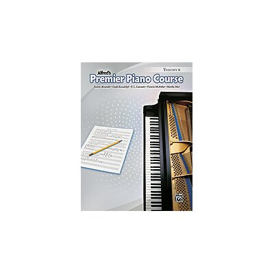 Alfred Publishing Company Premier Piano Course: Theory Book 6