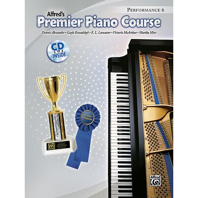 Alfred Publishing Company Premier Piano Course: Performance Book 6