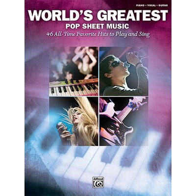 Alfred Publishing Company World's Greatest Pop Sheet Music