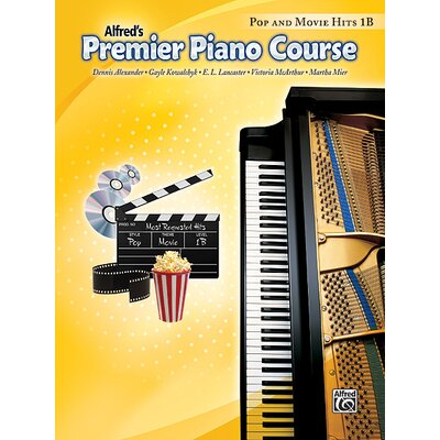 Alfred Publishing Company Premier Piano Course: Pop and Movie Hits Book 1B