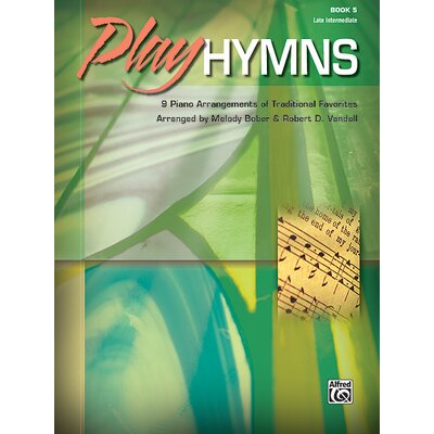 Alfred Publishing Company Play Hymns, Book 5