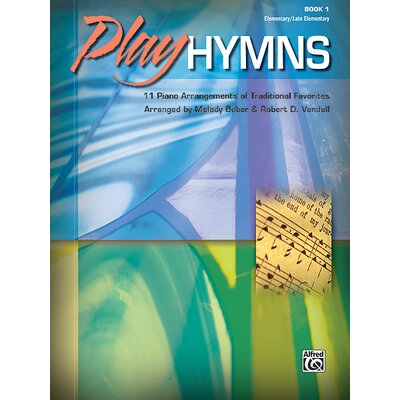 Alfred Publishing Company Play Hymns, Book 1