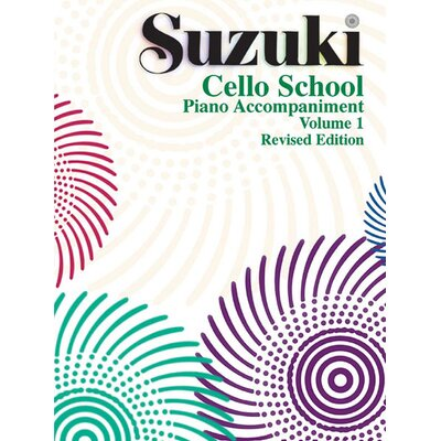 Alfred Publishing Company Suzuki Cello School Piano Acc., Volume 1