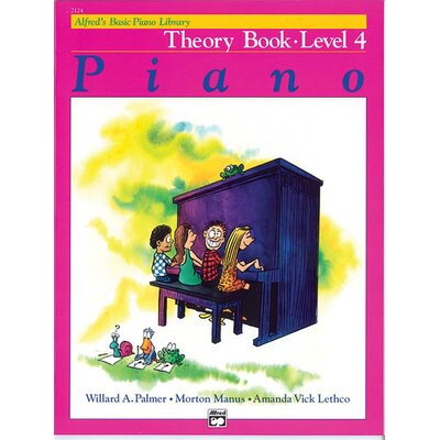 Alfred Publishing Company Basic Piano Course: Theory Book 4