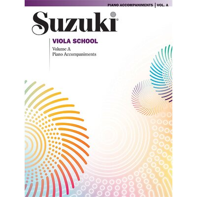 Alfred Publishing Company Suzuki Viola School Piano Acc., Volume A (contains Volumes 1 and 2)