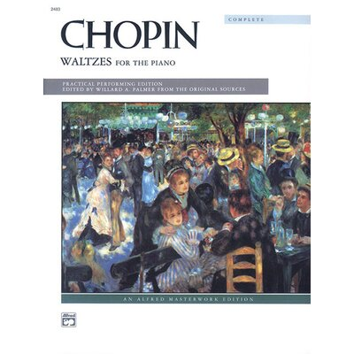 Alfred Publishing Company Waltzes Complete Music Book