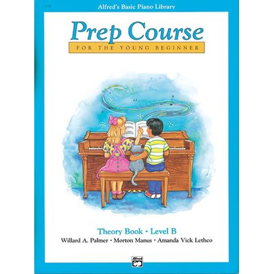 Alfred Publishing Company Basic Piano Prep Course: Theory Book B