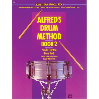 Alfred Publishing Company Drum Method, Book 2