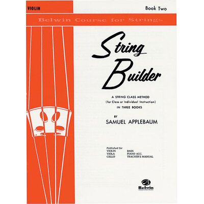 Alfred Publishing Company String Builder: Violin (Book II)