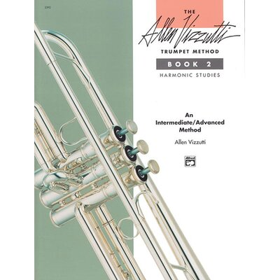 Alfred Publishing Company The Allen Vizzutti Trumpet Method - Book 2, Harmonic Studies