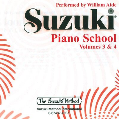 Alfred Publishing Company Suzuki Piano School CD, Volume 3 and 4 - The Suzuki Method Core Materials