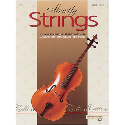 Alfred Publishing Company Strictly Strings: Cello (Book 1)