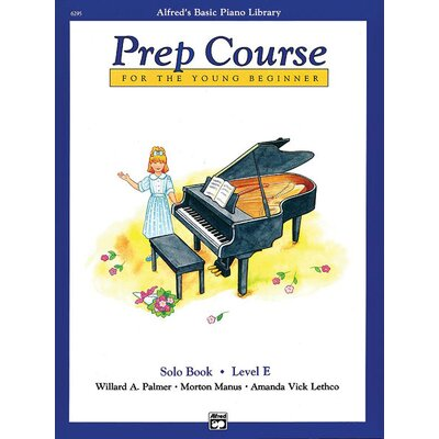 Alfred Publishing Company Basic Piano Prep Course: Solo Book E