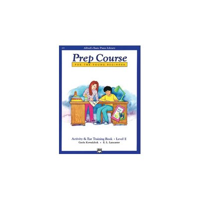 Alfred Publishing Company Basic Piano Prep Course: Activity and Ear Training Book E