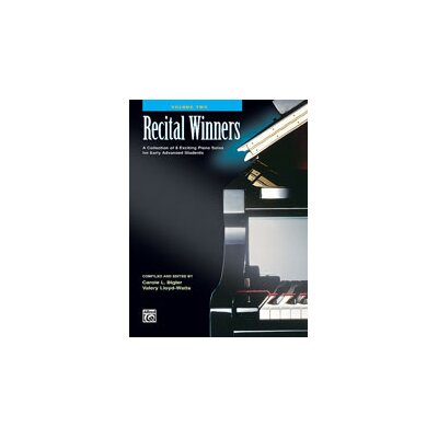 Alfred Publishing Company Recital Winners, Book 2