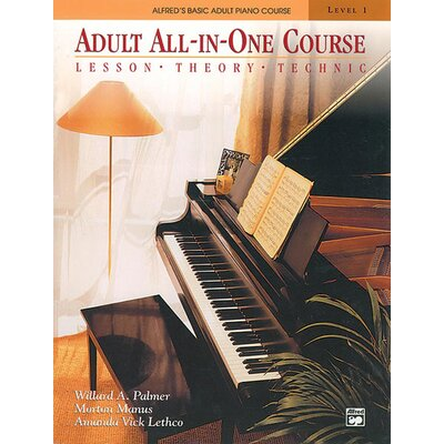 Alfred Publishing Company Basic Adult All-in-One Course: Lesson-Theory-Technic: Level 1