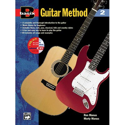 Alfred Publishing Company Basix®: Guitar Method, Book 2