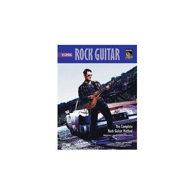 Alfred Publishing Company Complete Rock Guitar Method: Beginning Rock Guitar Music Book