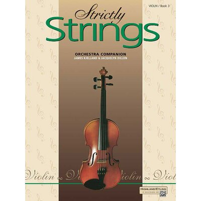 Alfred Publishing Company Strictly Strings: Violin (Book 3)