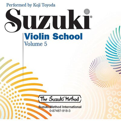 Alfred Publishing Company Suzuki Violin School CD - Volume 5
