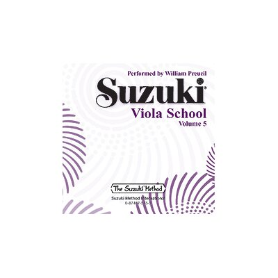 Alfred Publishing Company Suzuki Viola School CD, Volume 5