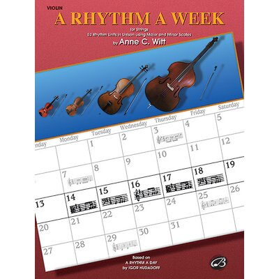 Alfred Publishing Company A Rhythm a Week