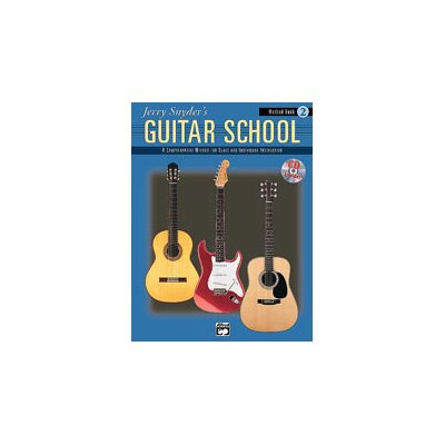 Alfred Publishing Company Jerry Snyder's Guitar School Method Book 2 (Book and CD)