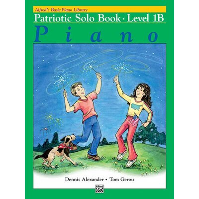 Alfred Publishing Company Basic Piano Course: Patriotic Solo Book 1B