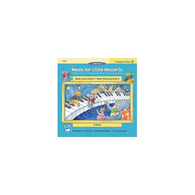 Alfred Publishing Company Music for Little Mozarts: CD 2-Disk Sets for Lesson and Discovery Books, Level 3