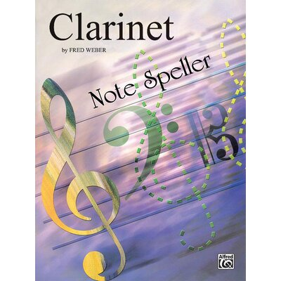 Alfred Publishing Company Note Spellers Music Book: Clarinet