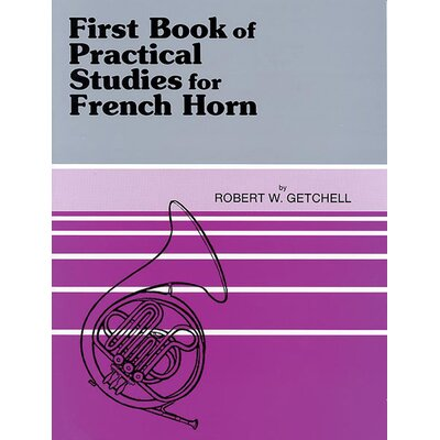 Alfred Publishing Company Practical Studies for French Horn, Book I