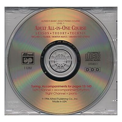 Alfred Publishing Company Basic Adult All - in - One Course CD for Level 1