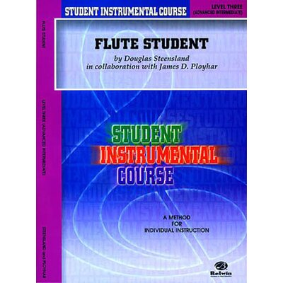 Alfred Publishing Company Student Instrumental Course: Flute Student, Level III