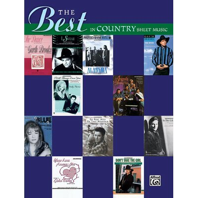 Alfred Publishing Company The Best in Country Sheet Music