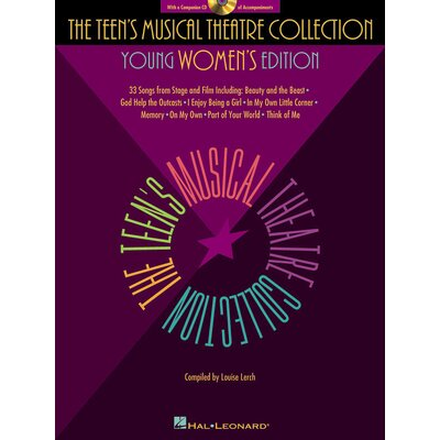 Hal Leonard Corporation The Teen's Musical Theatre Collection - Young Women's Edition - Book and CD