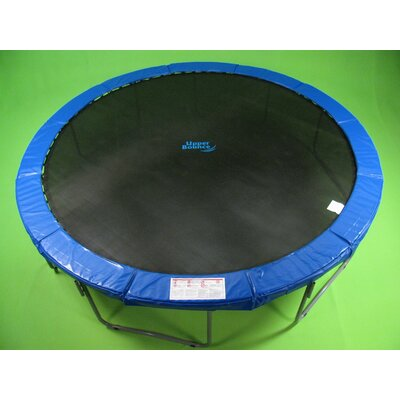 Upper Bounce 14' Super Trampoline Safety Pad (Spring Cover) Fits for 14 FT. Round Trampoline Frames. 10&quot; wide - Blue