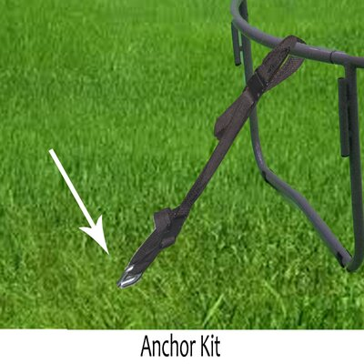 Upper Bounce Trampoline Anchor Kit (Set of 4)