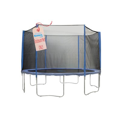 Upper Bounce 13' Trampoline Net Using 6 Straight Poles