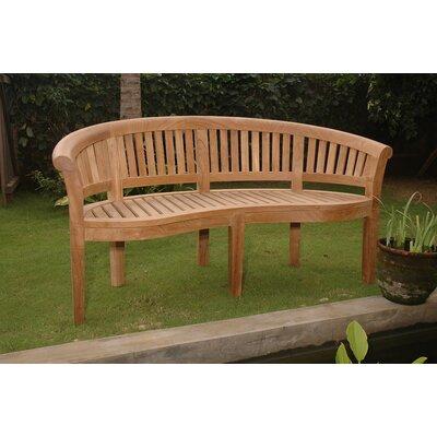 Amedeo Design Resin Stone Curved Garden Bench | Wayfair