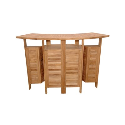 Anderson Teak Altavista Folding Bar Table