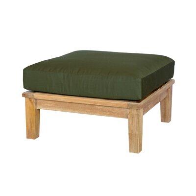Anderson Teak Brianna Ottoman with Cushion