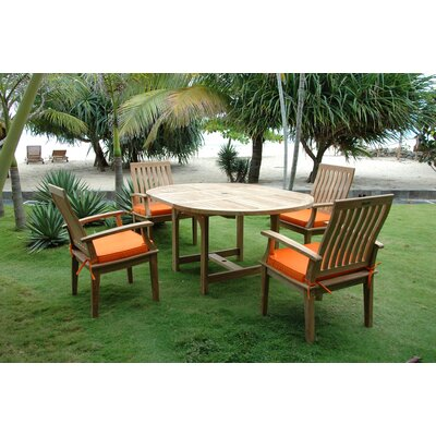 Anderson Teak Bahama 5 Piece Dining Set