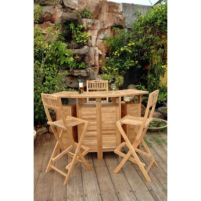 Anderson Teak Altavista Bar Height Dining Set