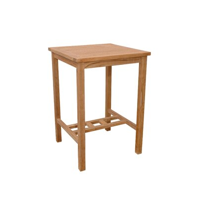 Anderson Teak Avalon Square Bar Table