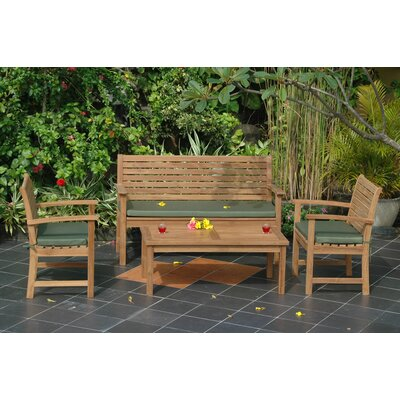 Anderson Collections Montage 4 Piece Bench Seating Group
